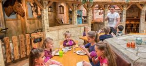 mk kinderrestaurant leading family hotel resort alpenrose