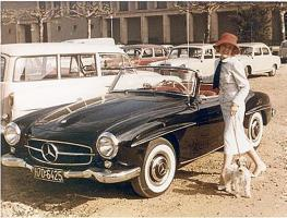 Rosemarie Nitribitts Mercedes 190 SL